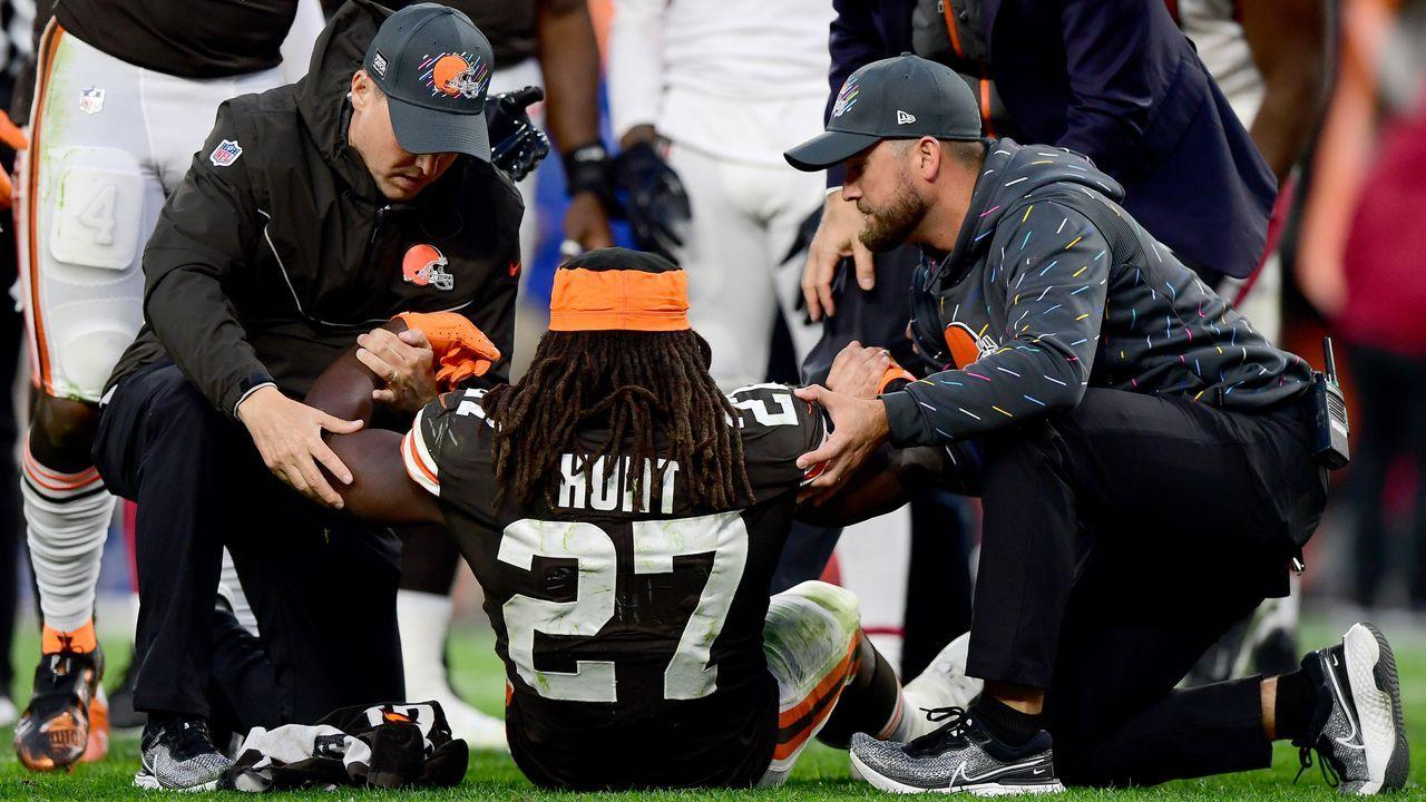 Kareem Hunt (Cleveland Browns) - Bildquelle: 2021 Getty Images