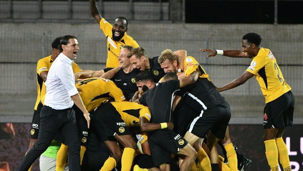 Die Young Boys Bern sichern sich erneut den Titel - Bildquelle: AFPSIDFABRICE COFFRINI
