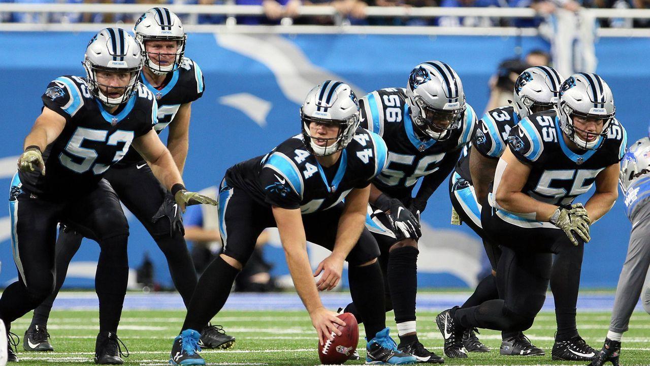 Platz 4: J.J. Jansen (Carolina Panthers) - Bildquelle: imago/ZUMA Press