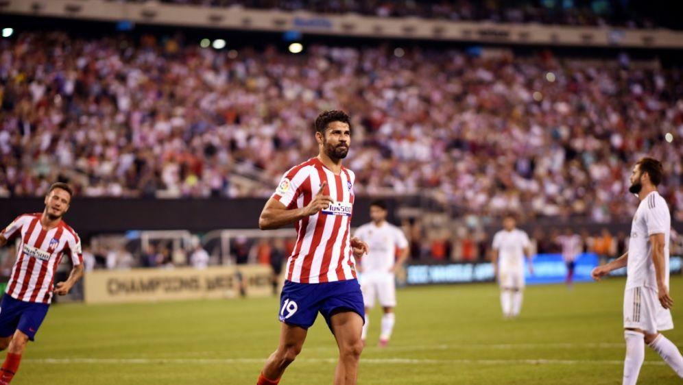 Vier Tore gegen Real: Diego Costa - Bildquelle: AFPAFPJohannes EISELE
