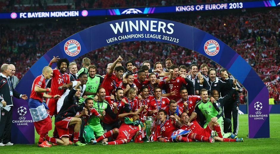 Platz 1: FC Bayern München - Bildquelle: 2013 Getty Images