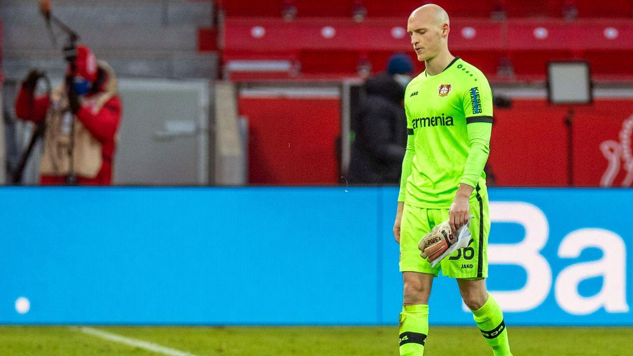 Tor: Niklas Lomb (Bayer Leverkusen) - Bildquelle: imago images/Kirchner-Media