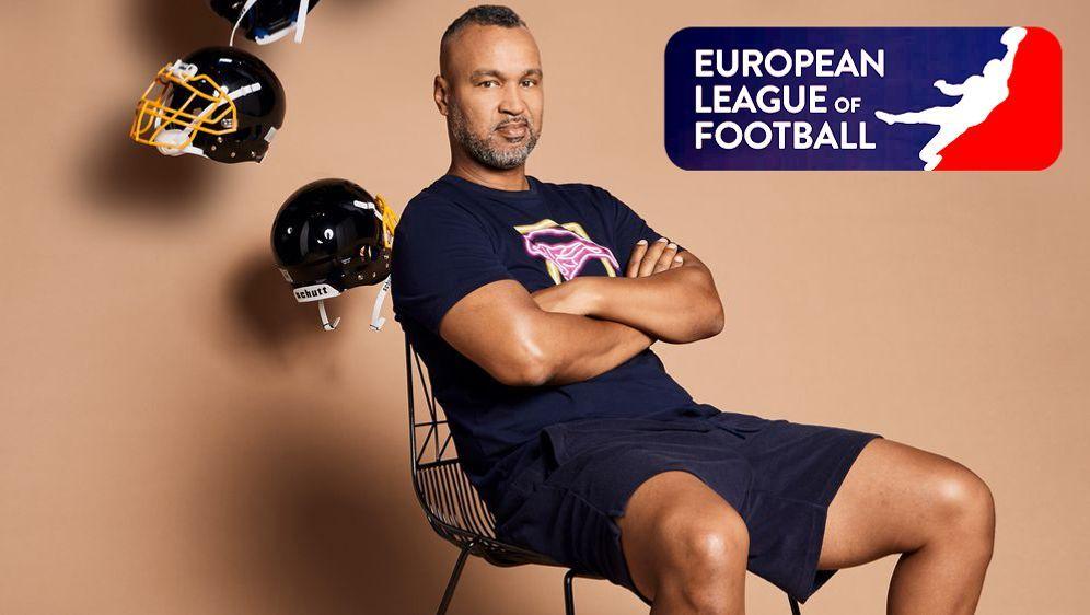 Patrick Esume ist der Commissioner der European League of Football. - Bildquelle: ran