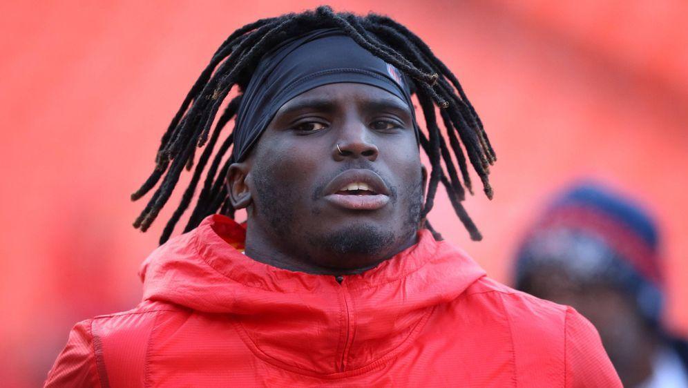 Kehrt Tyreek Hill rechtzeitig zum Trainingslager zu den Kansas City Chiefs z... - Bildquelle: imago/Icon SMI