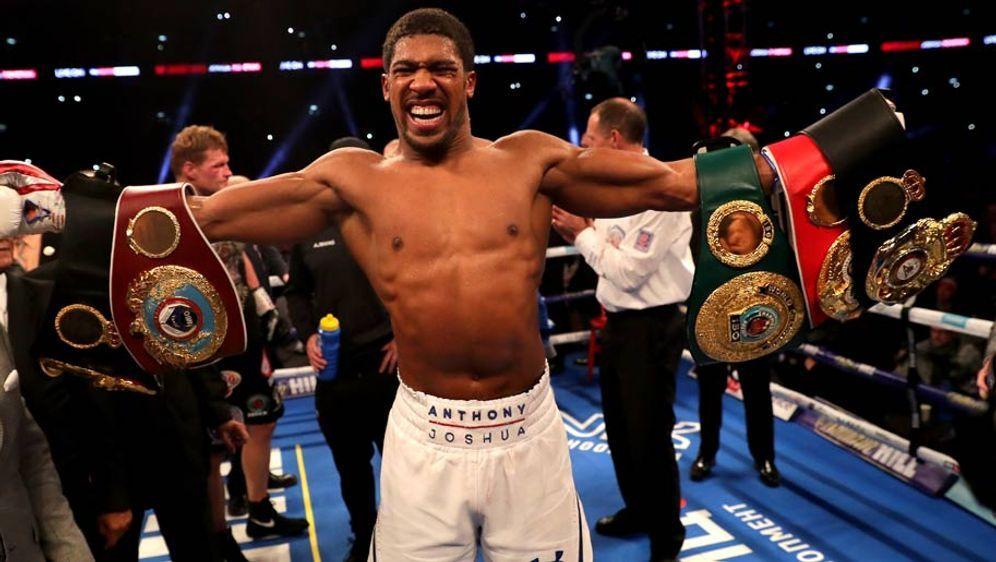 Anthony Joshua hat nach wie vor einen imposanten Kampfrekord von 22-0 - Bildquelle: GettyImages