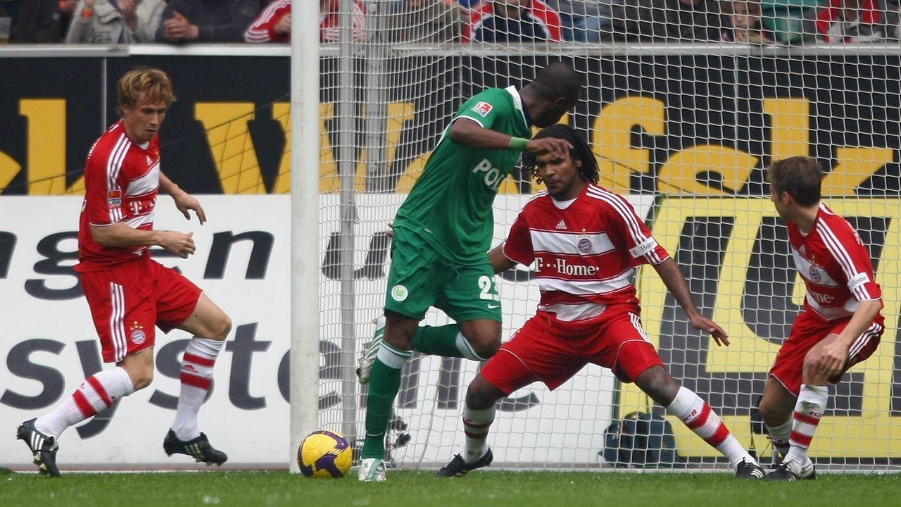 VfL Wolfsburg - FC Bayern München 5:1 (2008/09) - Bildquelle: 2009 Getty Images