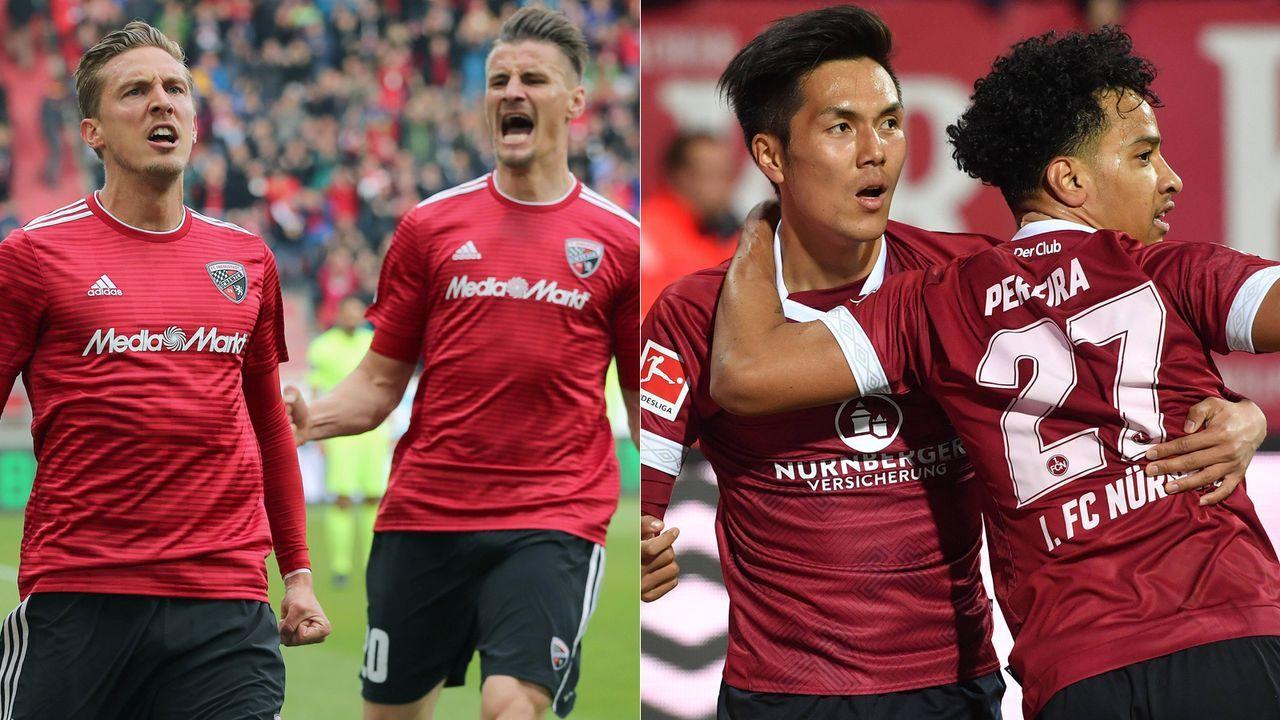 FC Ingolstadt - 1. FC Nürnberg - Bildquelle: Imago