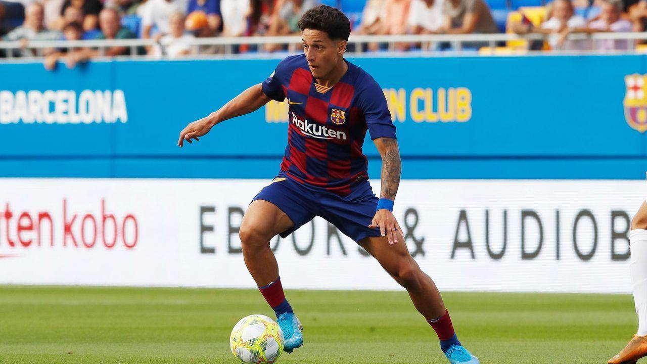 Kike Saverio (FC Barcelona B) - Bildquelle: imago images / AFLOSPORT