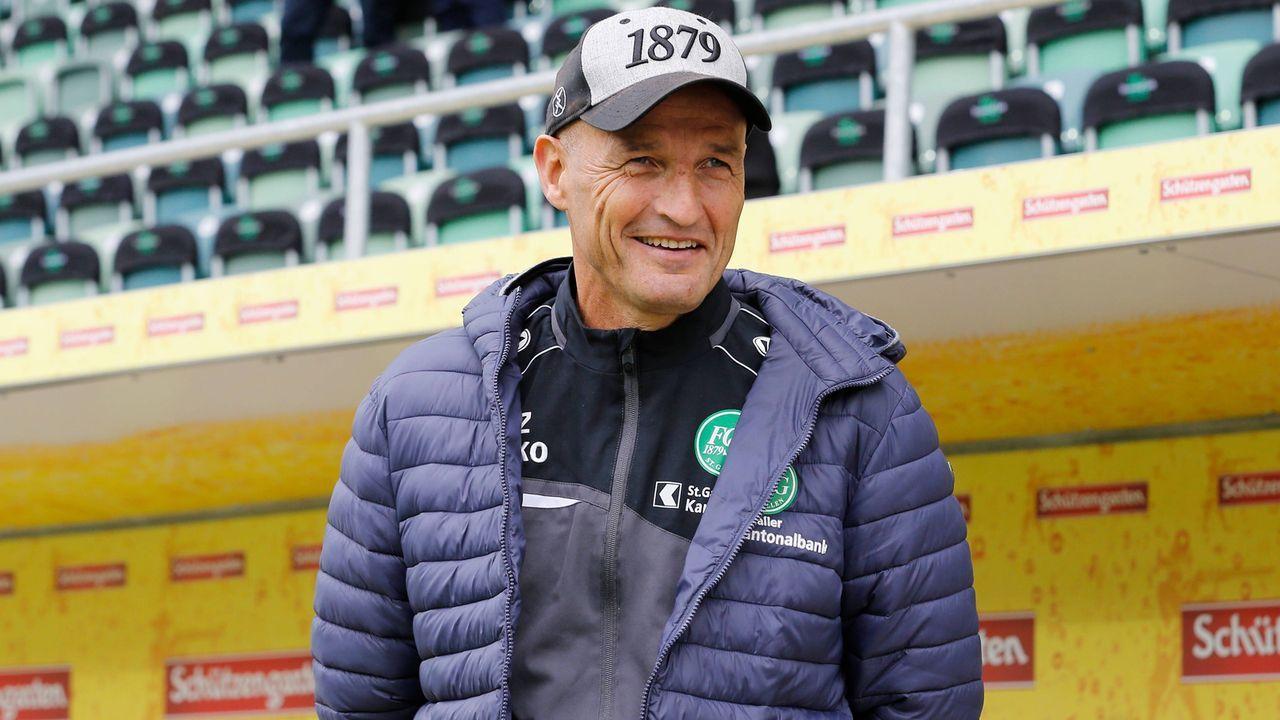 Peter Zeidler (FC St. Gallen/Schweiz) - Bildquelle: imago images / Geisser