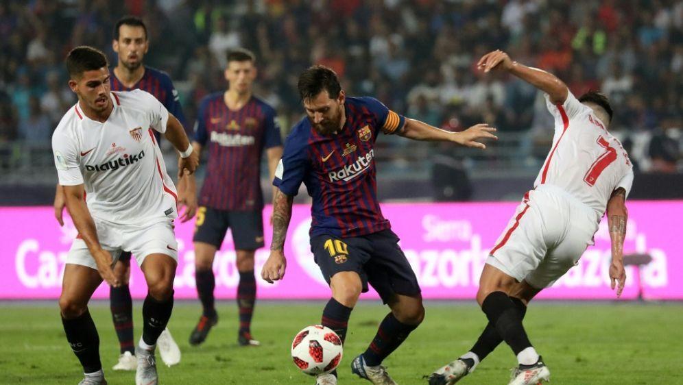 Der spanische Supercup 2018 fand in Marokko statt - Bildquelle: AFPSID-