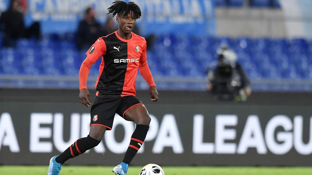 2. Eduardo Camavinga (Stade Rennes/Frankreich) - Bildquelle: imago images/Insidefoto