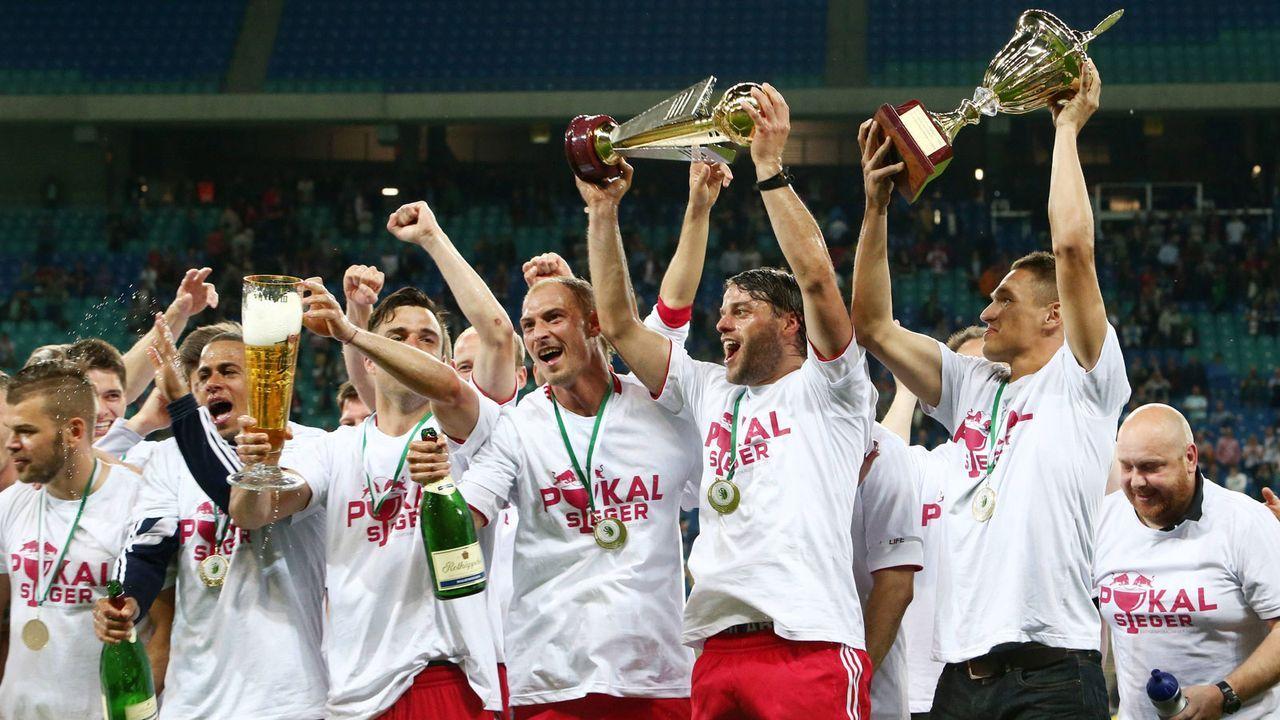 Leipzig hat schon zwei Pokale gewonnen - Bildquelle: imago sportfotodienst