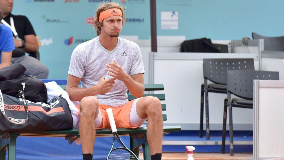Alexander Zverev ist verärgert über die Organisatoren der US-Open. - Bildquelle: imago images/Pixsell
