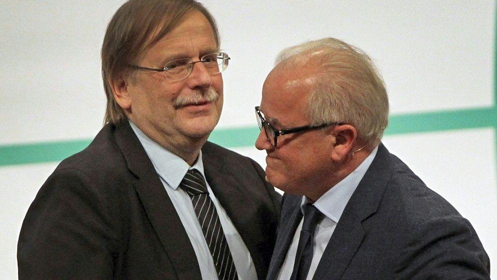 Rainer Koch und Fritz Keller wenden sich an die Amateure - Bildquelle: AFPSIDDANIEL ROLAND