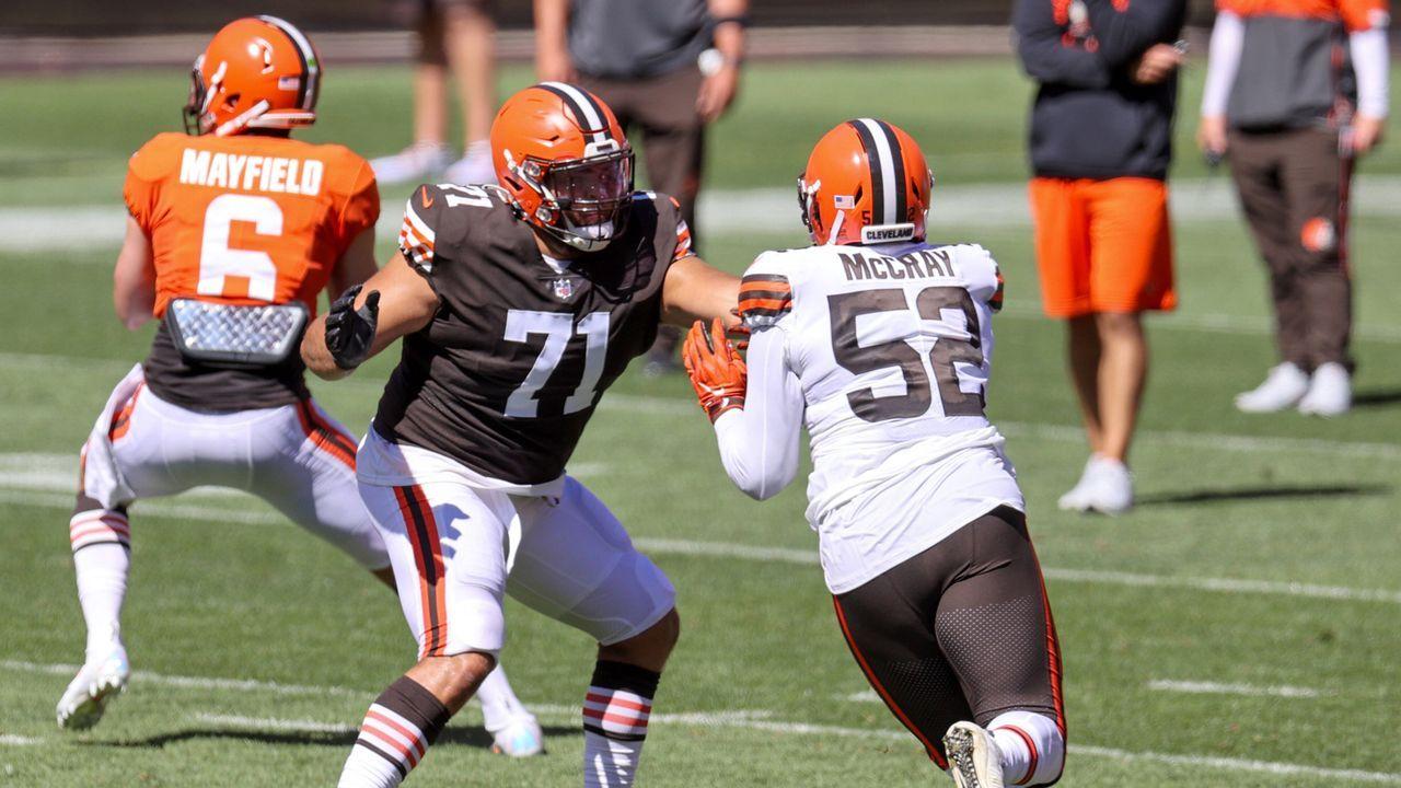 Jedrick Wills (Offensive Tackle, Cleveland Browns) - Bildquelle: imago images/Icon SMI