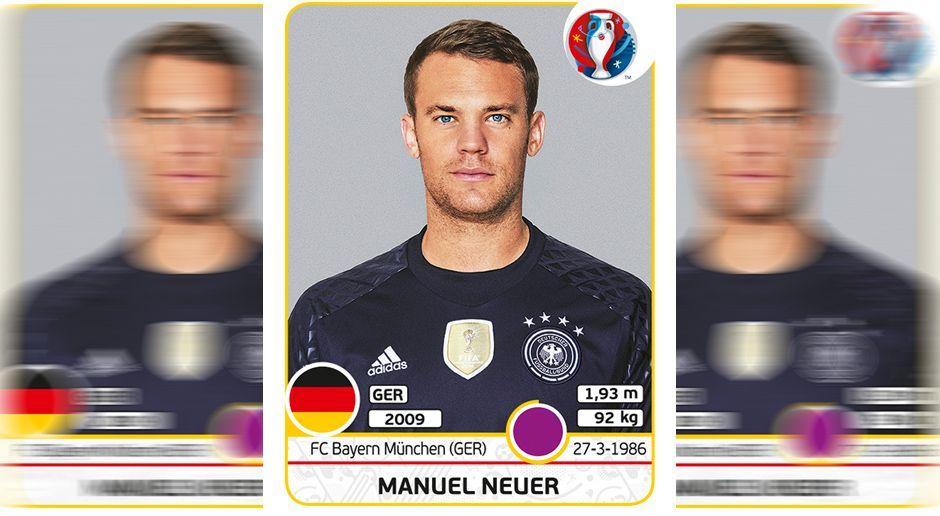 Manuel Neuer - Bildquelle: Panini