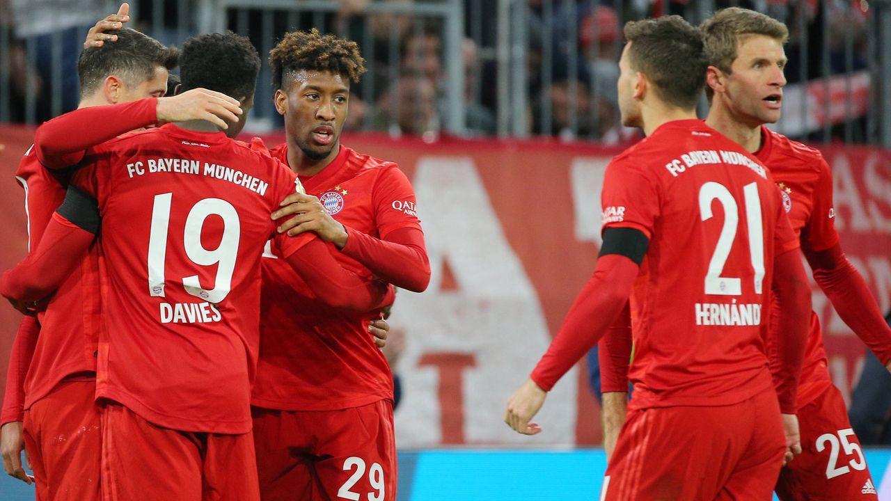 Bundesliga: Der FC Bayern München gegen den SC Paderborn in der Einzelkritik - Bildquelle: Imago Images