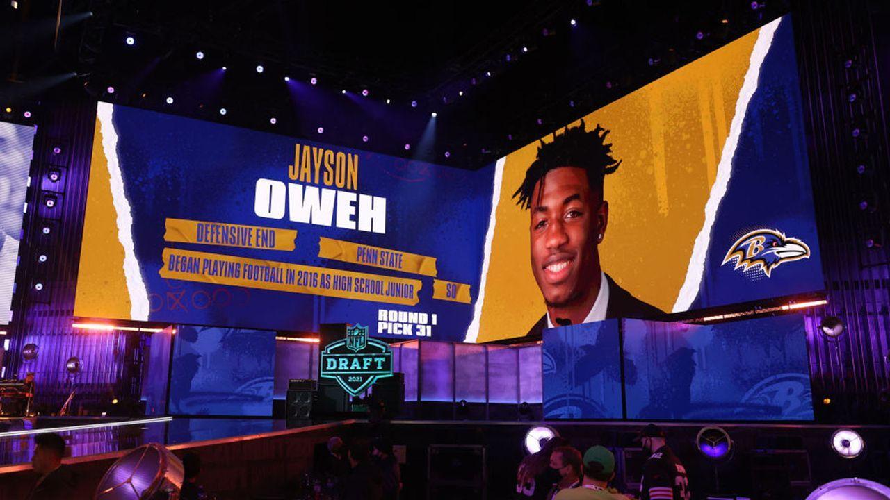 Jayson Oweh (Linebacker/Baltimore Ravens) - Bildquelle: 2021 Getty Images