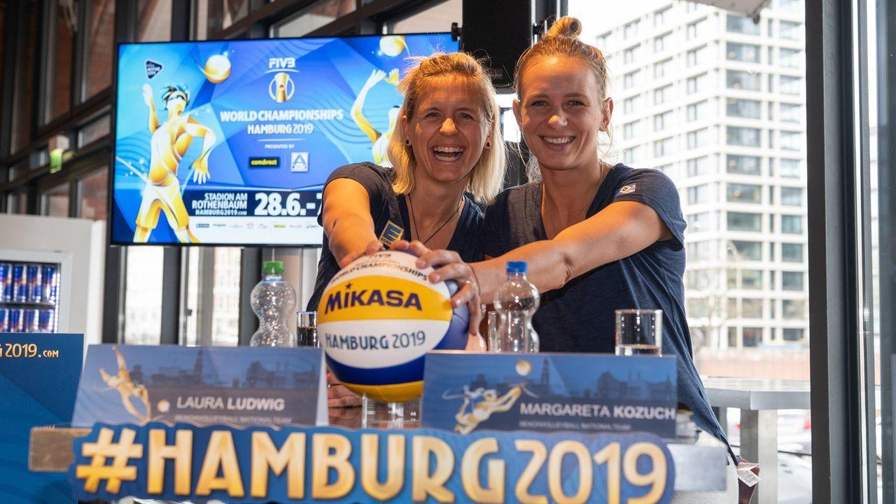 "Margareta ""Kusia"" Kozuch und Laura Ludwig - Bildquelle: imago"