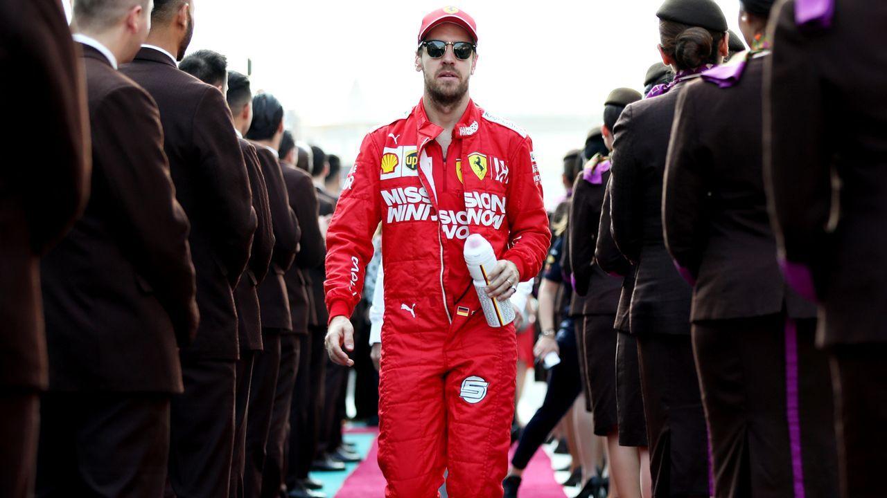 Die (einzige) deutsche Hoffnung: Sebastian Vettel - Bildquelle: 2019 Getty Images