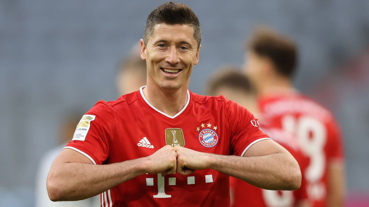 Angriff: Robert Lewandowski (FC Bayern München) - Bildquelle: 2021 Getty Images