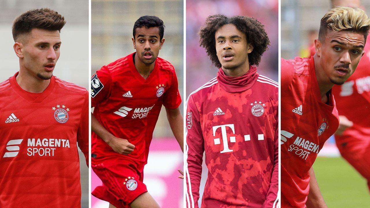Bayern-Coach Flick lässt vier Amateure bei den Profis mittrainieren - Bildquelle: Imago