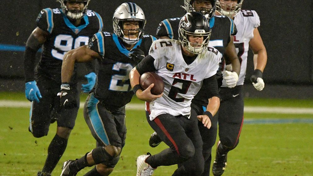 Falcons-Quarterback Matt Ryan erlief einen Touchdown gegen die Carolina Pant... - Bildquelle: 2020 Getty Images