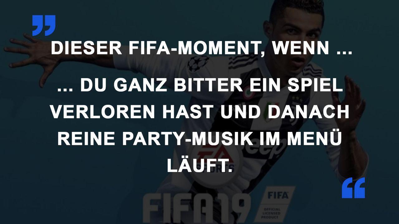 FIFA Momente Party-Musik