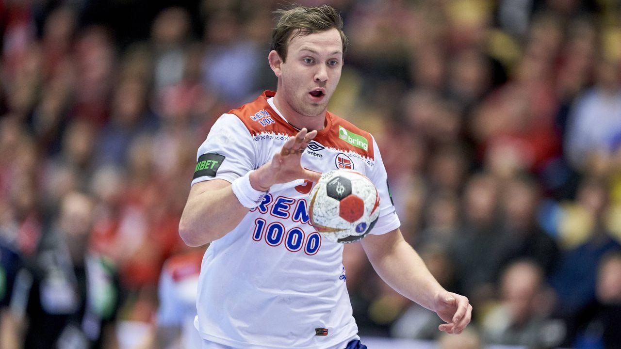 Der Top-Star von Norwegen: Sander Sagosen      - Bildquelle: imago/Claus Bonnerup