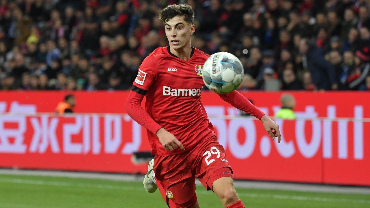 Kai Havertz jüngster Spieler der Geschichte mit 100 Bundesliga-Spielen - Bildquelle: imago images / Team 2
