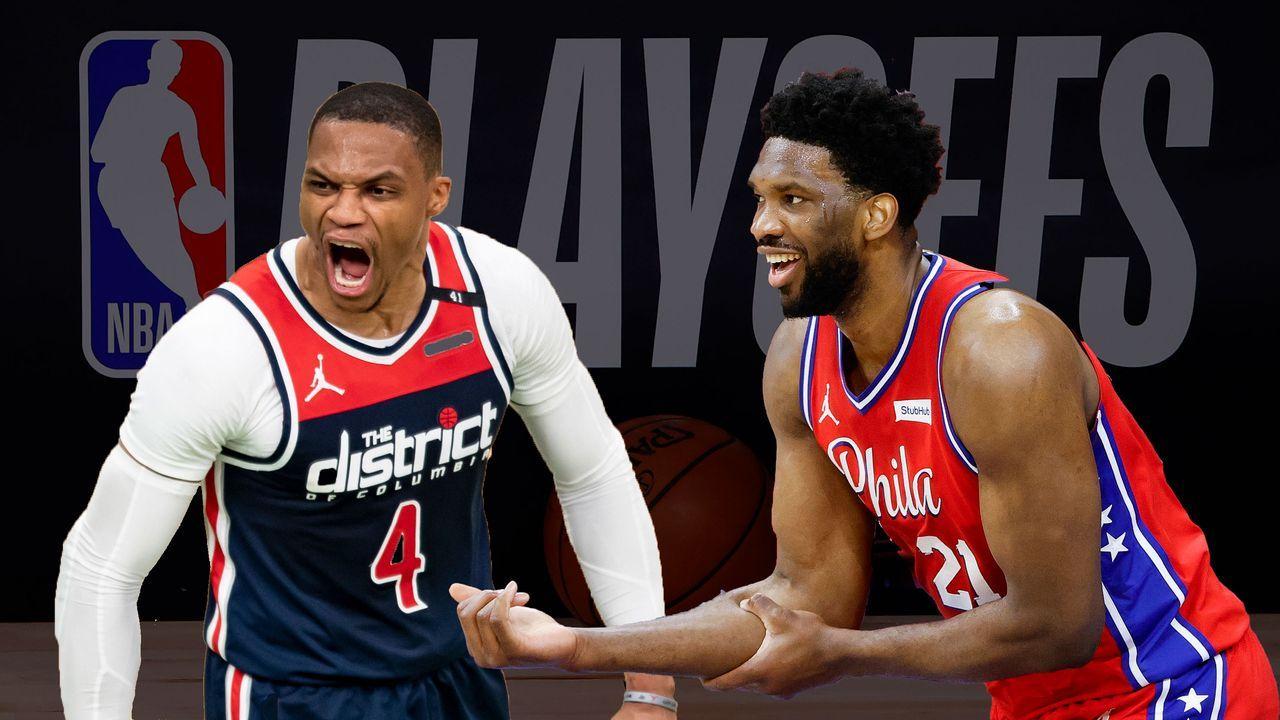 Washington Wizards (8)  vs. Philadelphia 76ers (1) - Bildquelle: 2020 Getty Images
