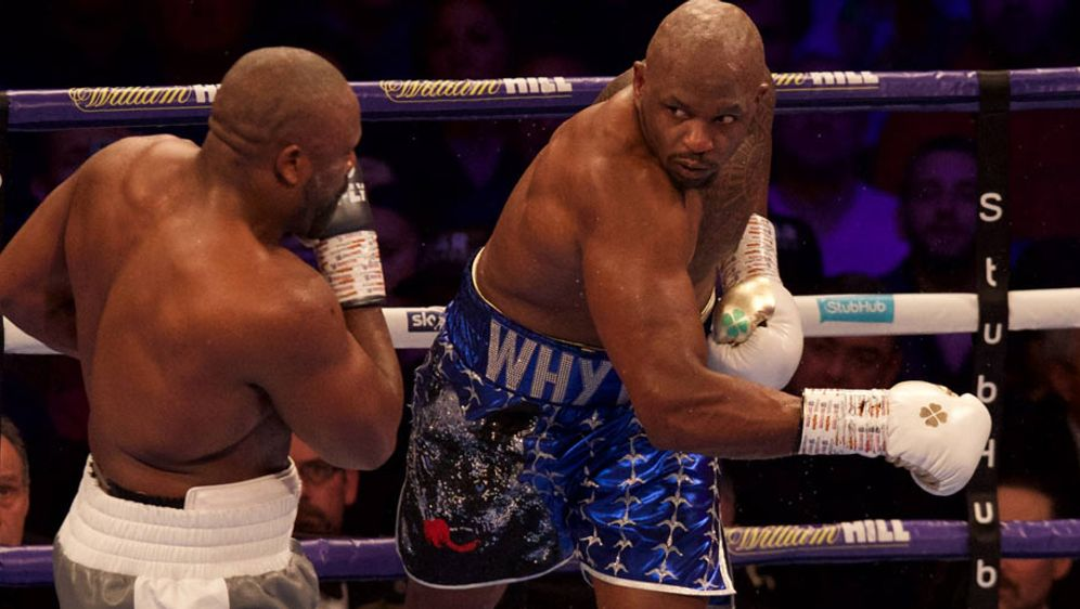 Boxer Whyte Joshua Fight Ist Tot