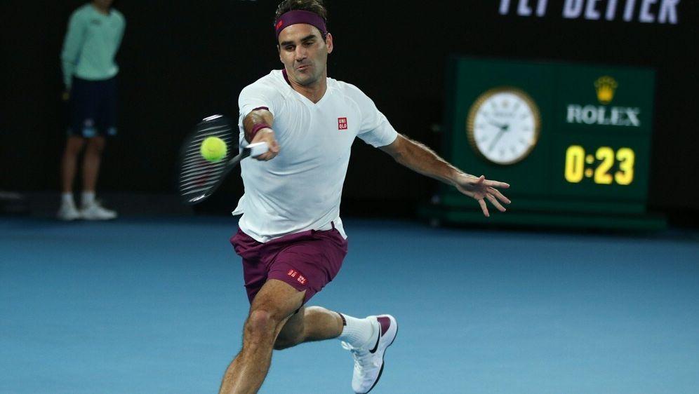 Schimpfen kostet: Roger Federer muss Geldstrafe zahlen - Bildquelle: PIXATHLONPIXATHLONSID