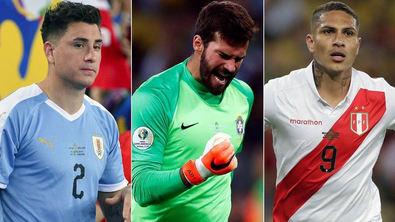 Die Top-Elf der Copa America 2019 - Bildquelle: Imago