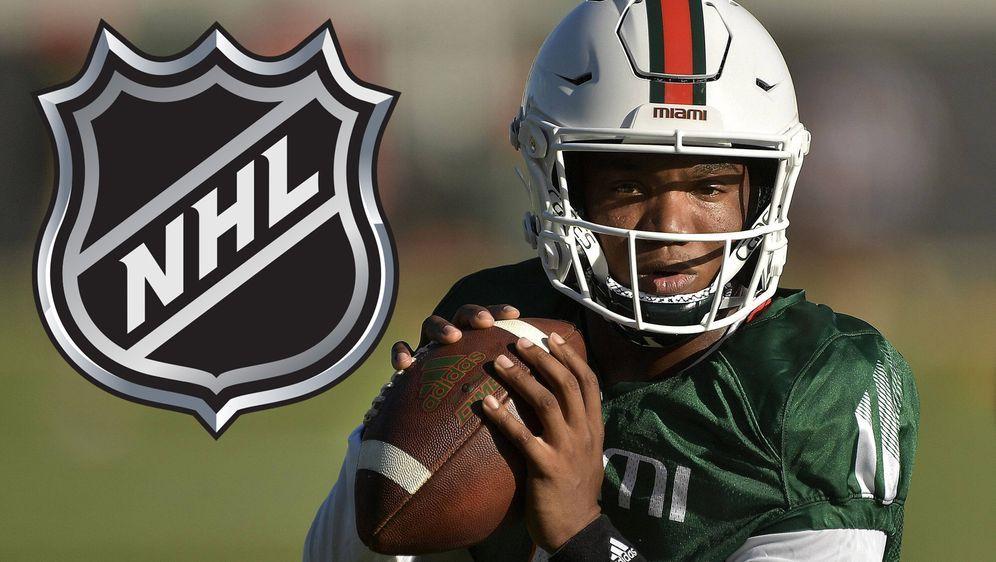 D'Eriq King hat einen Vertrag mit dem NHL-Team der Florida Panthers abgeschl... - Bildquelle: imago images/ZUMA Wire