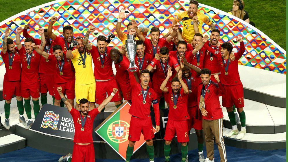 Portugal ist der erste Gewinner der neugeschaffenen Nations League. - Bildquelle: 2019 Getty Images