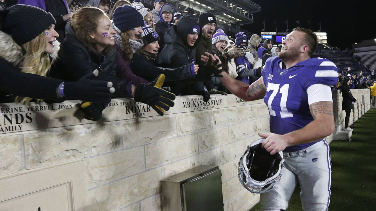 Dalton Risner (Tackle, Kansas State) - Bildquelle: imago/ZUMA Press