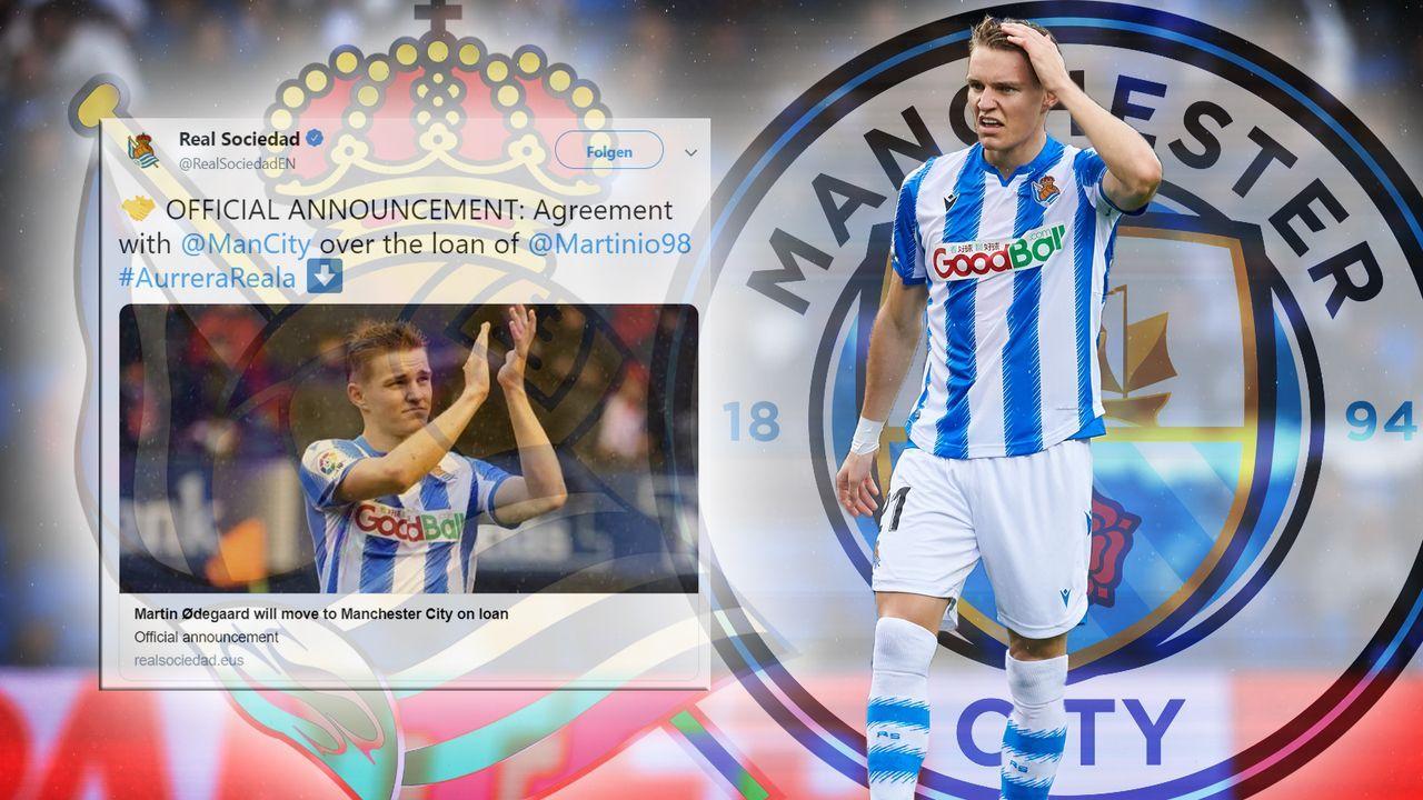 Real Sociedad vermeldet Fake-Transfer von Martin Odegaard - Bildquelle: imago images / Bildbyran