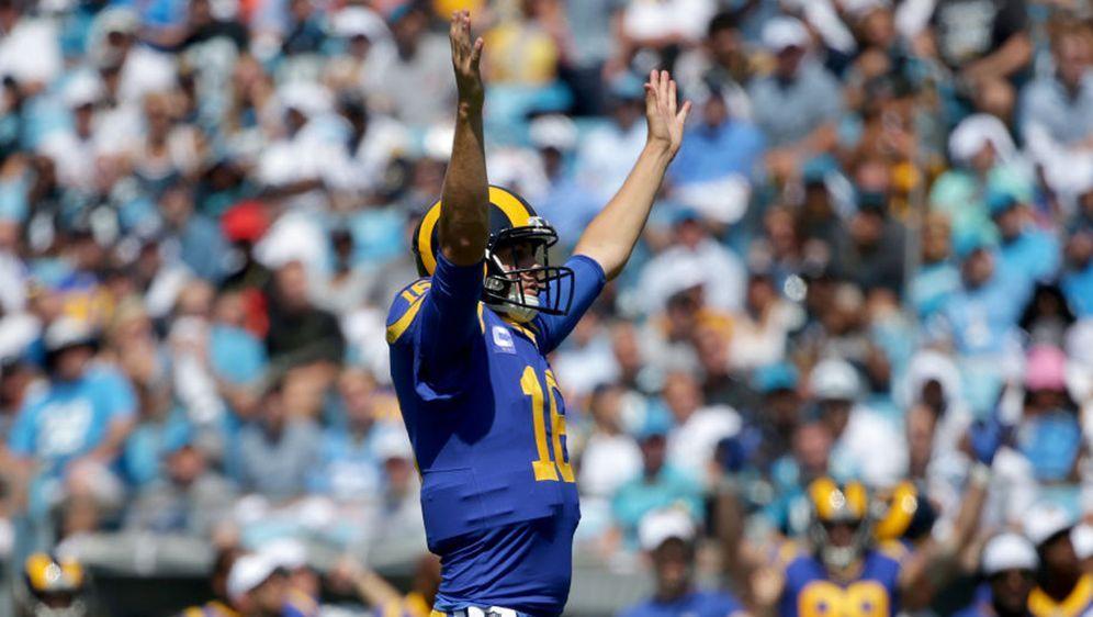 Quarterback Jared Goff feierte mit den Los Angeles Rams zum Auftakt einen Si... - Bildquelle: 2019 Getty Images