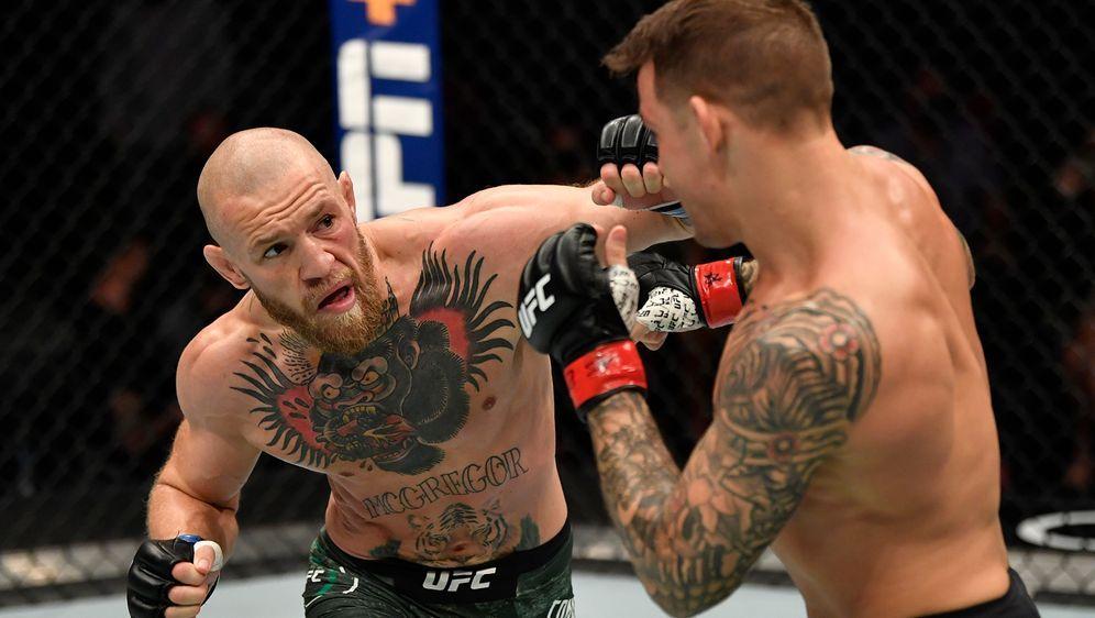 Schon zum dritten Mal kämpfen Conor McGregor und Dustin Poirier in der UFC g... - Bildquelle: Getty Images