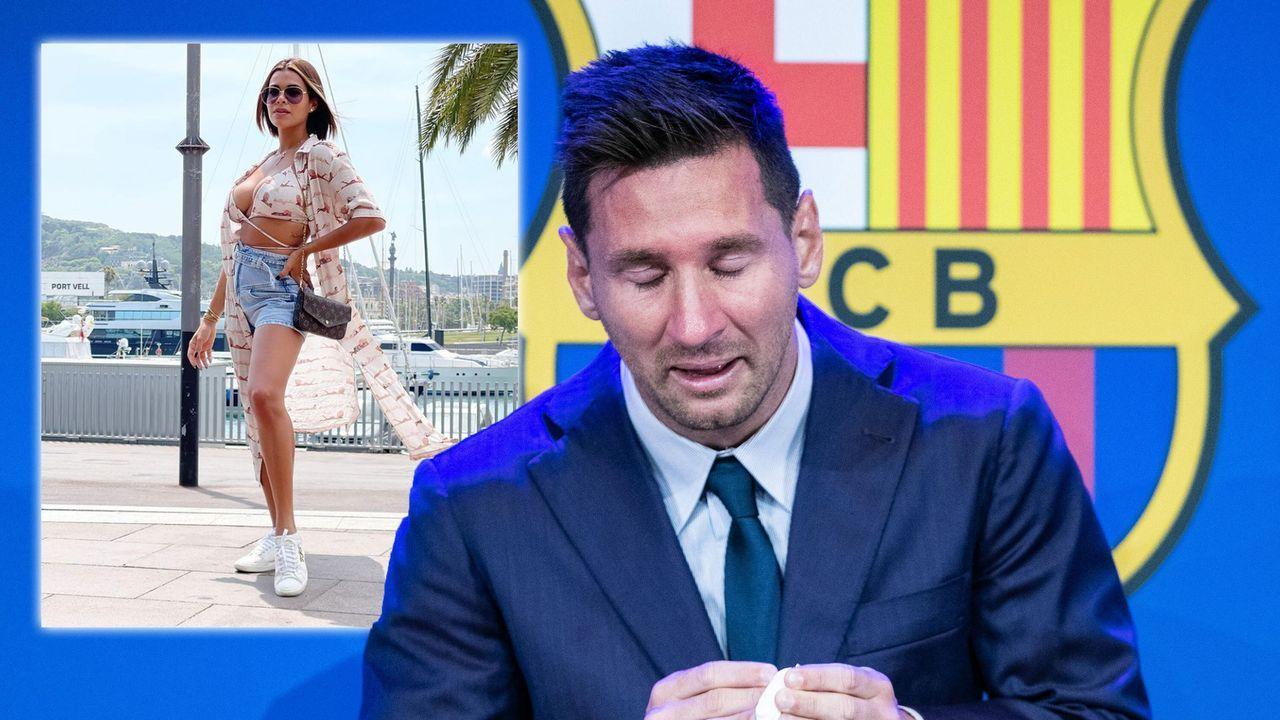 Für 600.000 Dollar! Playboy-Model will Taschentuch von Lionel Messi ersteigern, um damit nackt zu posen - Bildquelle: imago images/ZUMA Wire