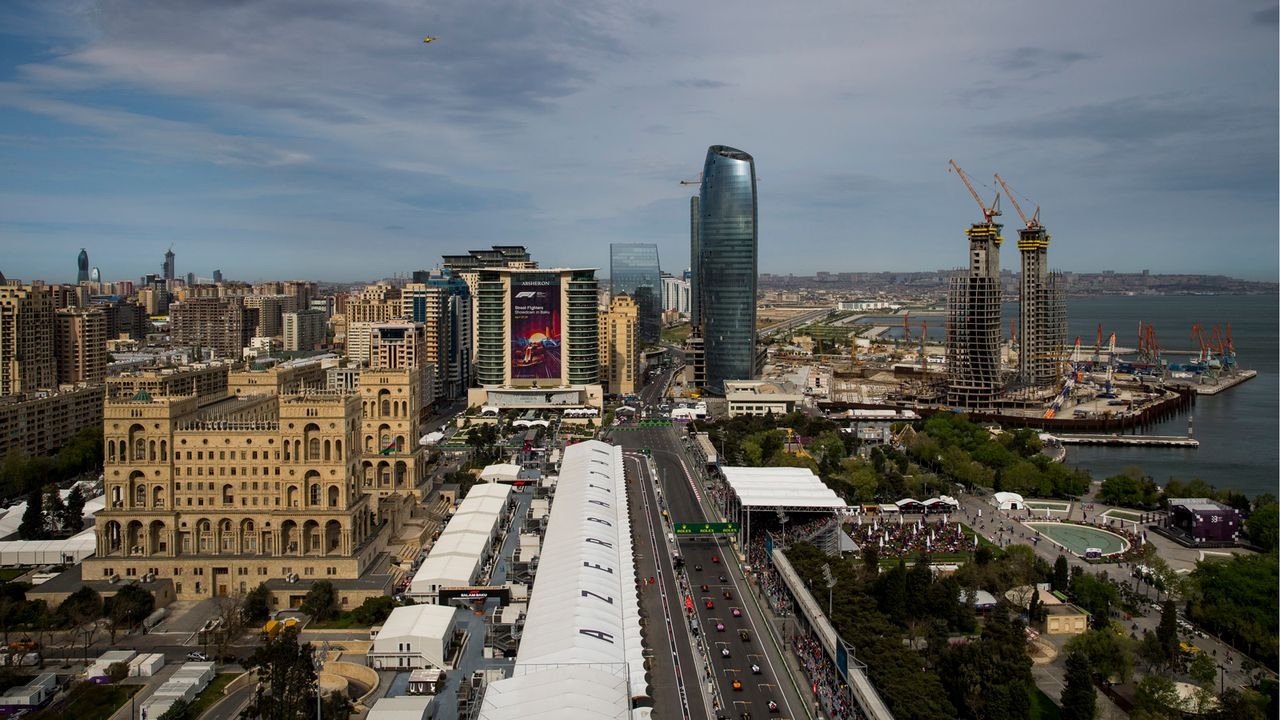 City Circuit Baku, Aserbaidschan   - Bildquelle: Getty