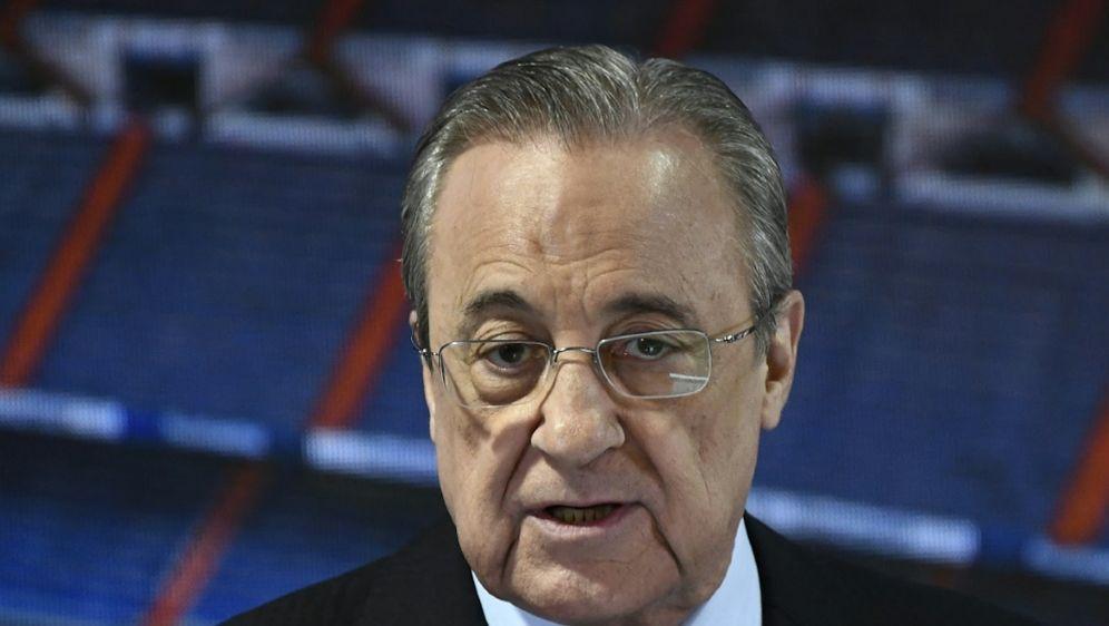 Florentino Perez geht in seine sechste Amtszeit - Bildquelle: AFPSIDOSCAR DEL POZO