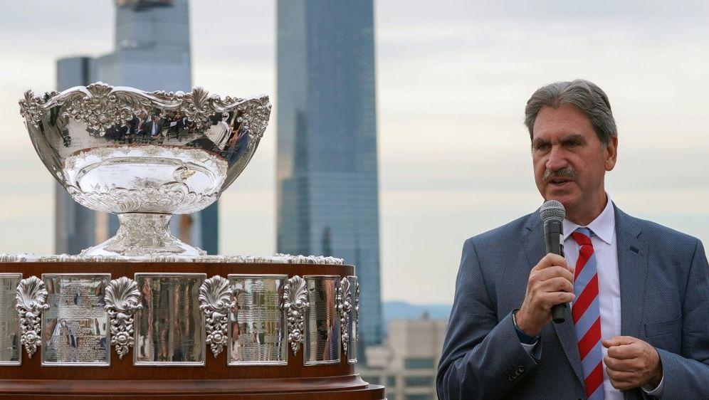 Haggerty initiierte die kritisierte Davis-Cup-Reform - Bildquelle: AFPAFPBryan R. Smith