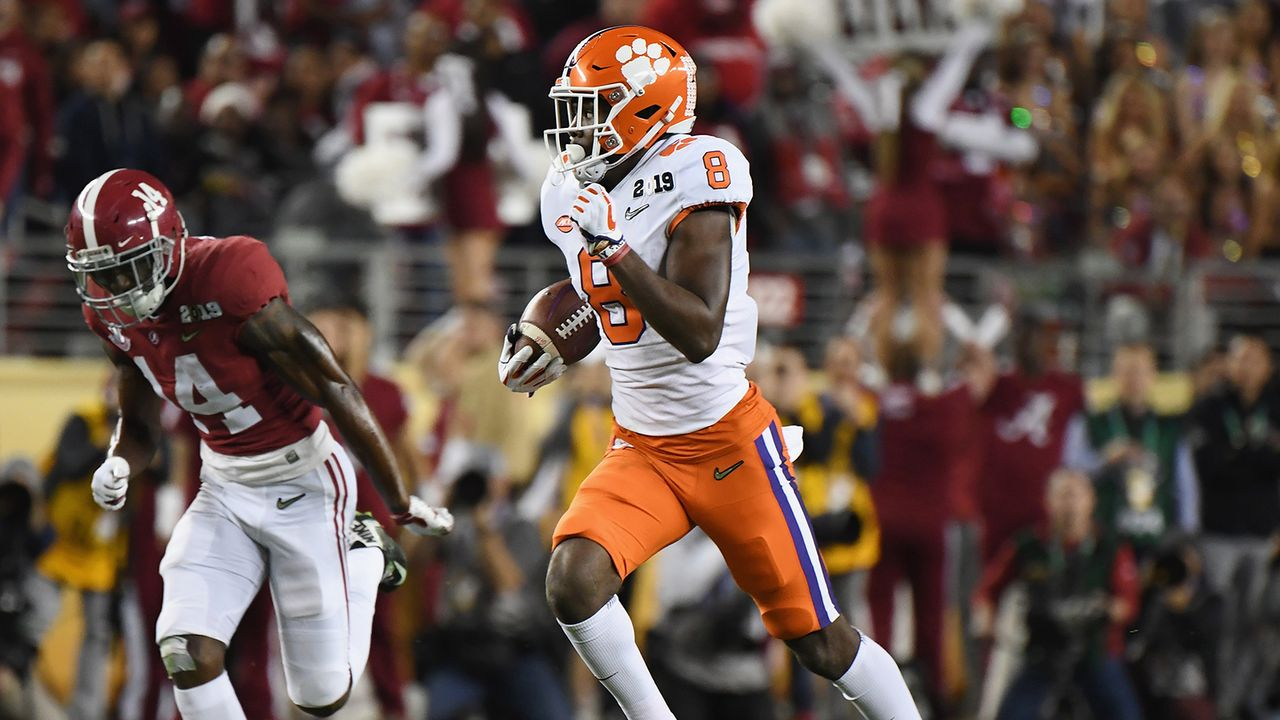Justyn Ross, Wide Receiver, Clemson - Bildquelle: Getty Images