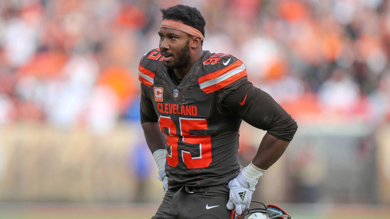 Myles Garrett (Defensive End, Cleveland Browns)  - Bildquelle: imago/Icon SMI