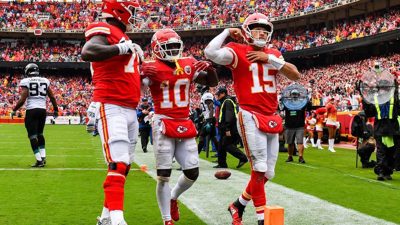 3. Kansas City Chiefs 2018 - Bildquelle: 2018 Getty Images