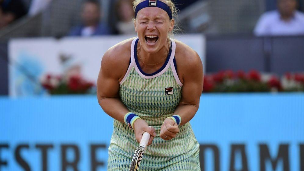 Kiki Bertens gewinnt das WTA-Turnier in Madrid - Bildquelle: AFPSIDJAVIER SORIANO
