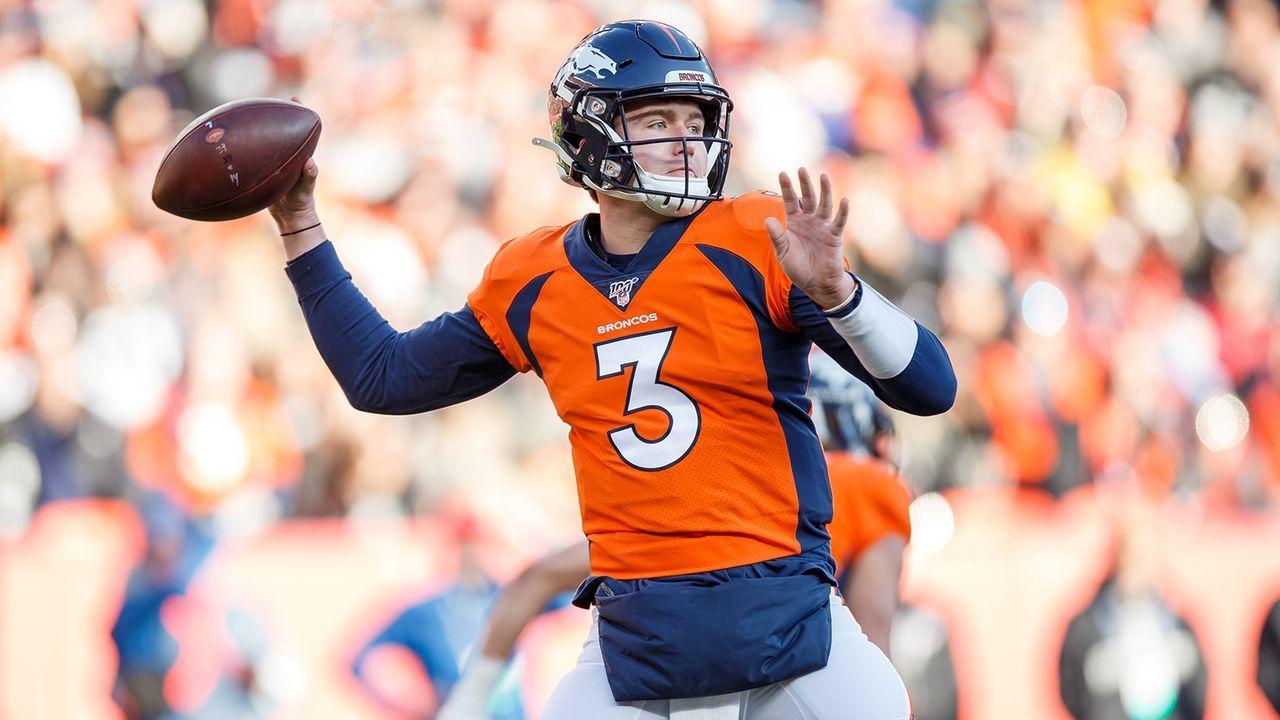 Quarterback: Drew Lock (Denver Broncos) - Bildquelle: Getty Images