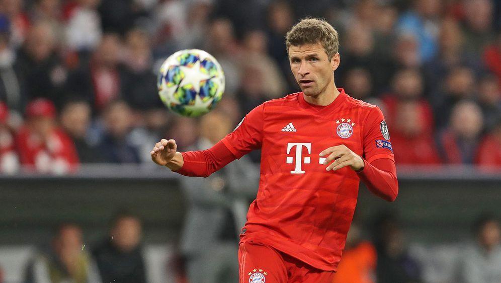 Thomas Müller erzielt das 3:0 - Bildquelle: 2019 Getty images